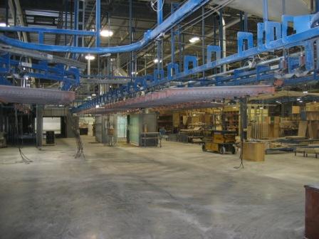 Jervis B. Webb Overhead component conveyor, 2003