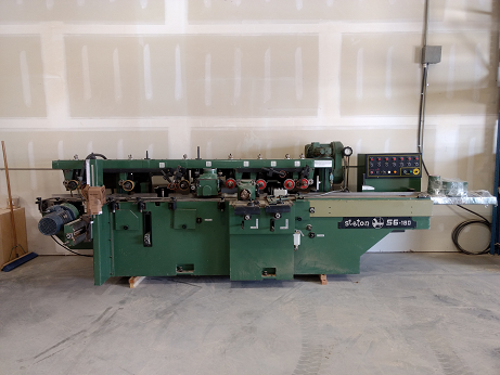 Used Stenton 6 head moulder  S6-180 | Moulders
