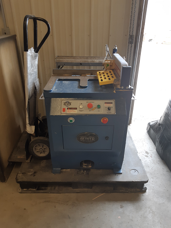Used Oliver upcut with tables and tigerstops 5035.002 | Saws - CutOff, Miter, Radial Arm