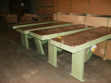 4 Air Flotation Tables, 1995