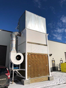 ABB outdoor dust collector  ABB outdoor dust collector , 1997