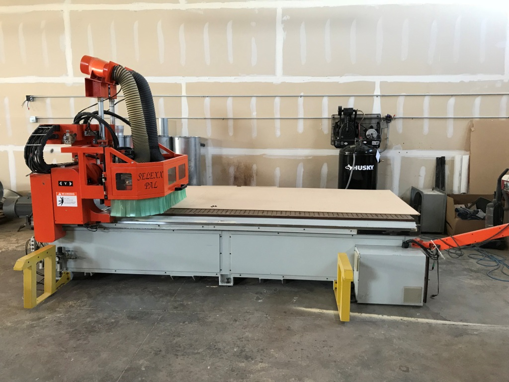 Used Andi/Omnitech Selexx/Pal | CNC Routers - Flat Table, Nesting