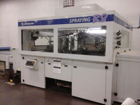 Used Barberan Automated Stain Application Line | Finishing Equipment
