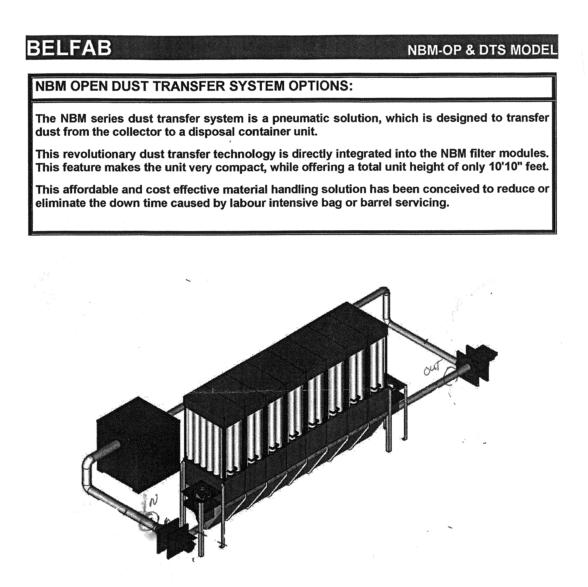 Used Belfab NBM-OP | Dust Collectors & 
