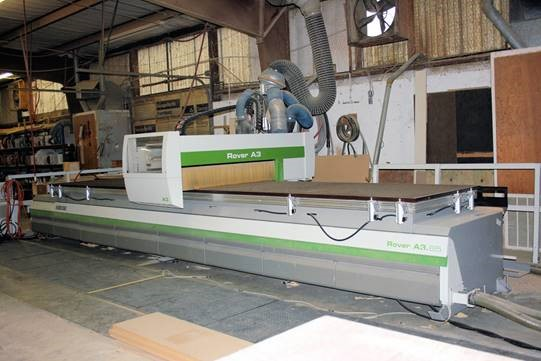 Biesse ROVER A 3.65/FT/K2.  Flat Table CNC, 2007