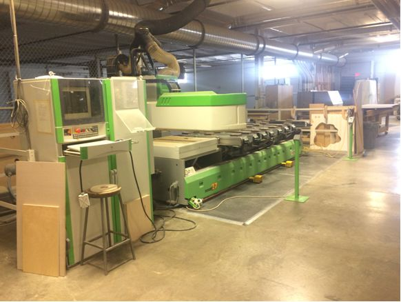 Used Biesse Rover 27 pod and rail CNC | CNC Machining Centers - Pod and Rail