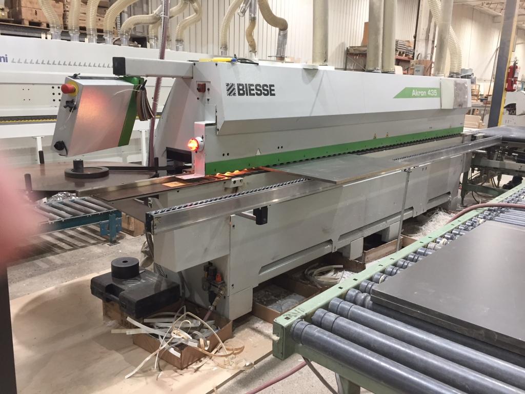 Biesse Akron 435 + Return Conveyor, 2013
