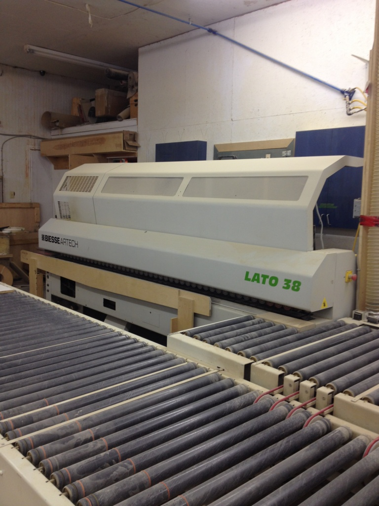 Biesse & Taylor Lato 38 & Return Conveyor, 2005