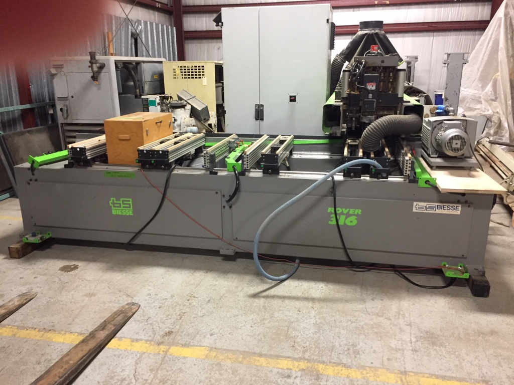 Used Biesse Rover 316 | CNC Machining Centers - Pod and Rail