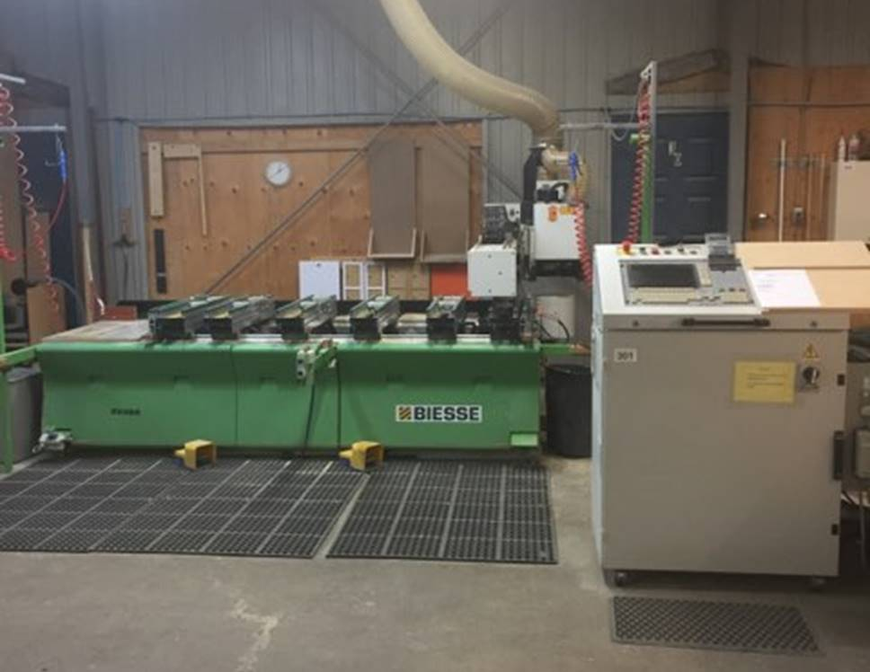 Used Biesse Rover 15 | CNC Machining Centers - Pod and Rail