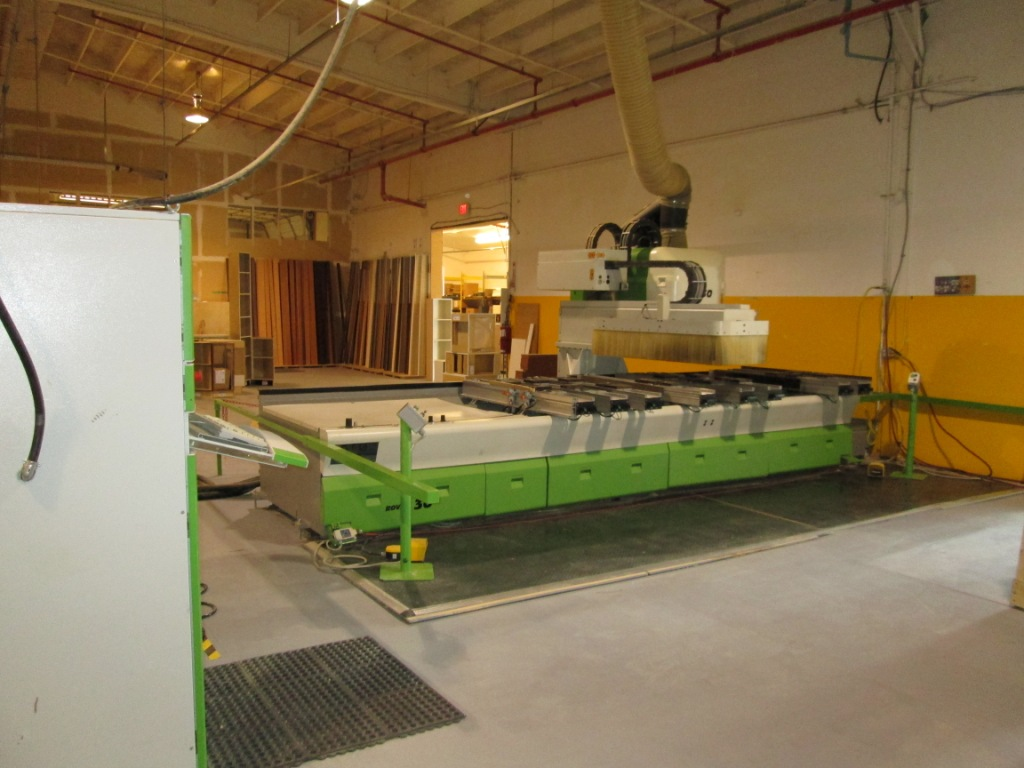 Biesse Rover 30 Pod + Rail CNC Machining Center , 2002