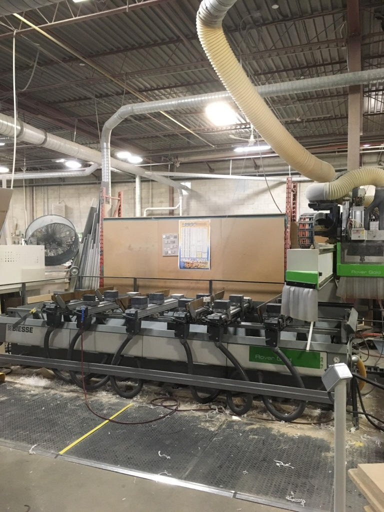 Used Biesse Rover Gold 1232 | CNC Machining Centers - Pod and Rail