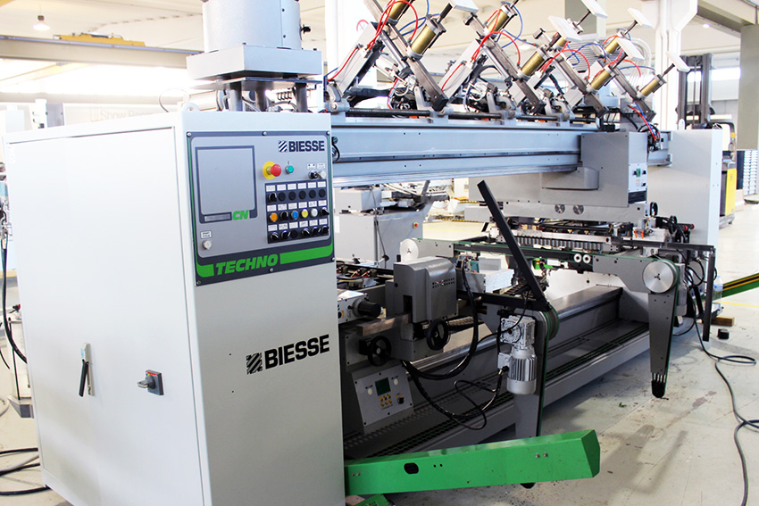 Used Biesse Techno Logic + Techno SDT | Dowel Machines