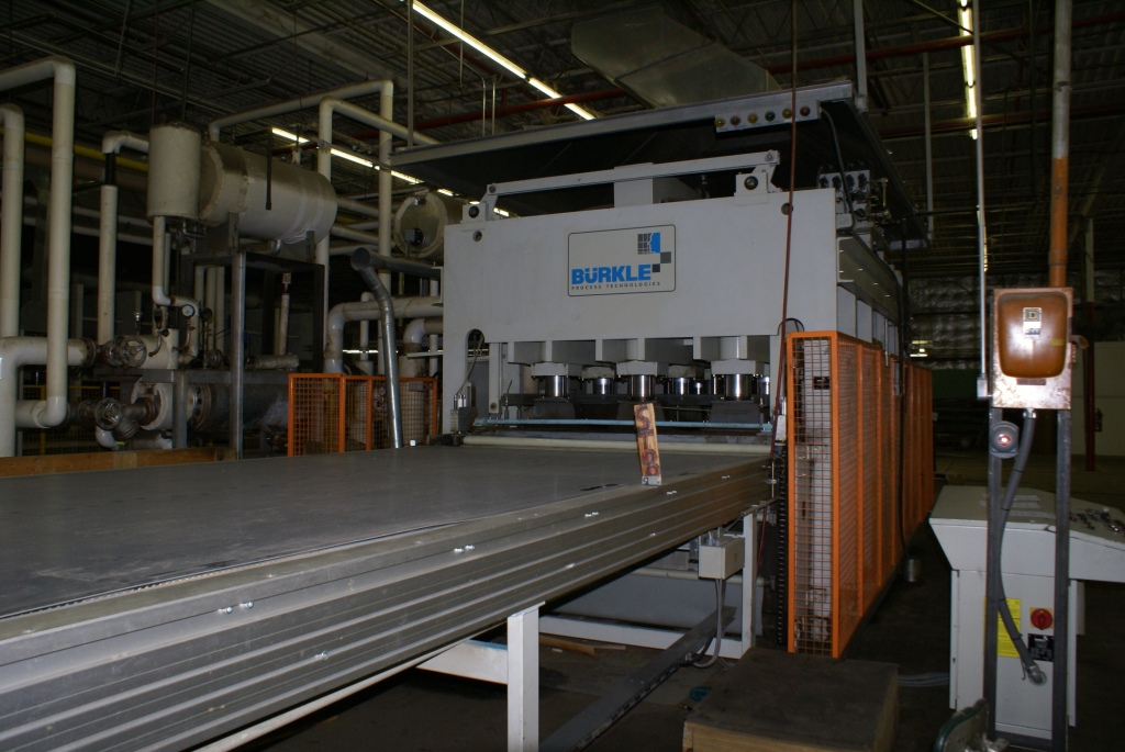 Used Burkle ODW 2255/120 | Presses - Hot/Cold