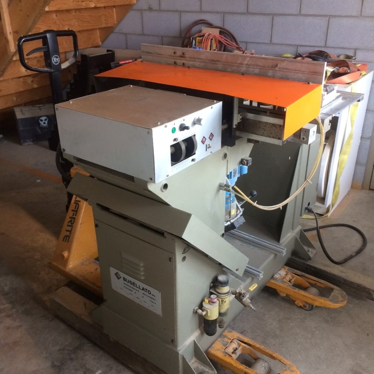 Used Busellato Unibohr 2000 Vertical/Horizontal drill  | Boring Machines - All 32mm and Through Feed