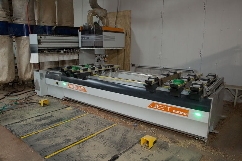 Used Busellato Optima C21 | CNC Machining Centers - Pod and Rail