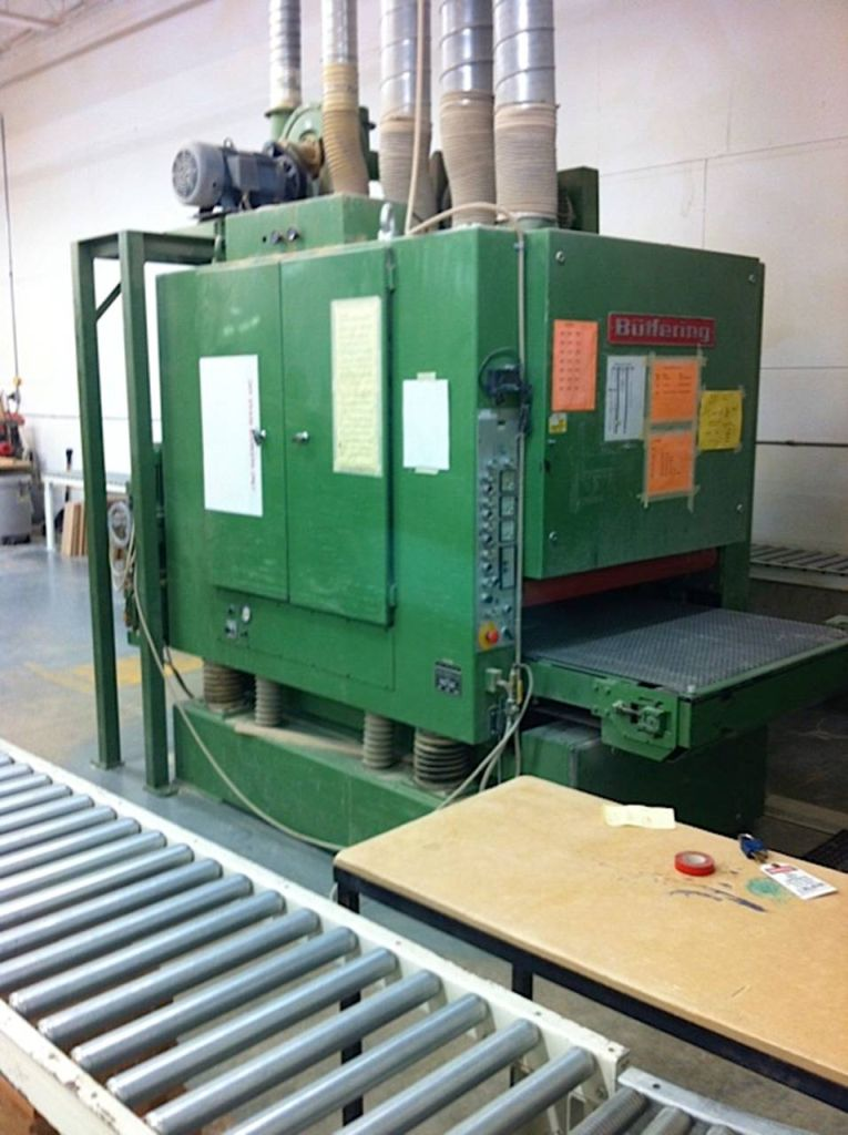 Used Buffering MA3W2 | Sanders - Wide Belt