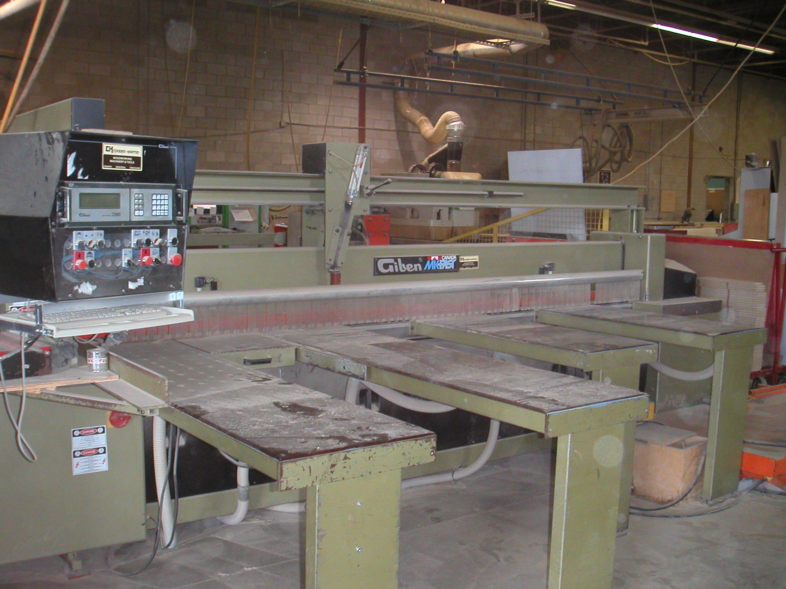 Giben MK-Fast Front Load Panel Saw, 1994