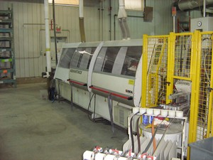IMA Advantage 6620 Edgebander with Corner Rounding, 2001