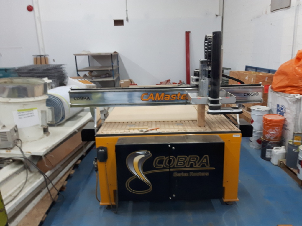 Used CAMaster Cobra CR-510 | CNC Routers - Flat Table, Nesting