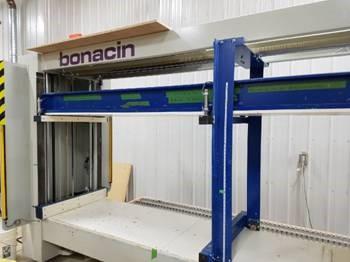 Bonacin STRETTOIO NINA semi automatic case clamp with PLC , 2012