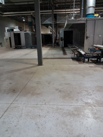 Used Koch Deburgh System, case goods | Finishing Equipment
