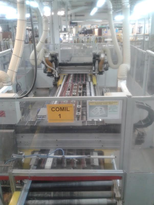 Comil Insider FT2 700 Feed Machining Center, 2000