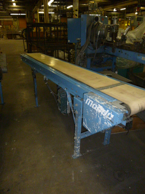Unknown Lot of various conveyors,
