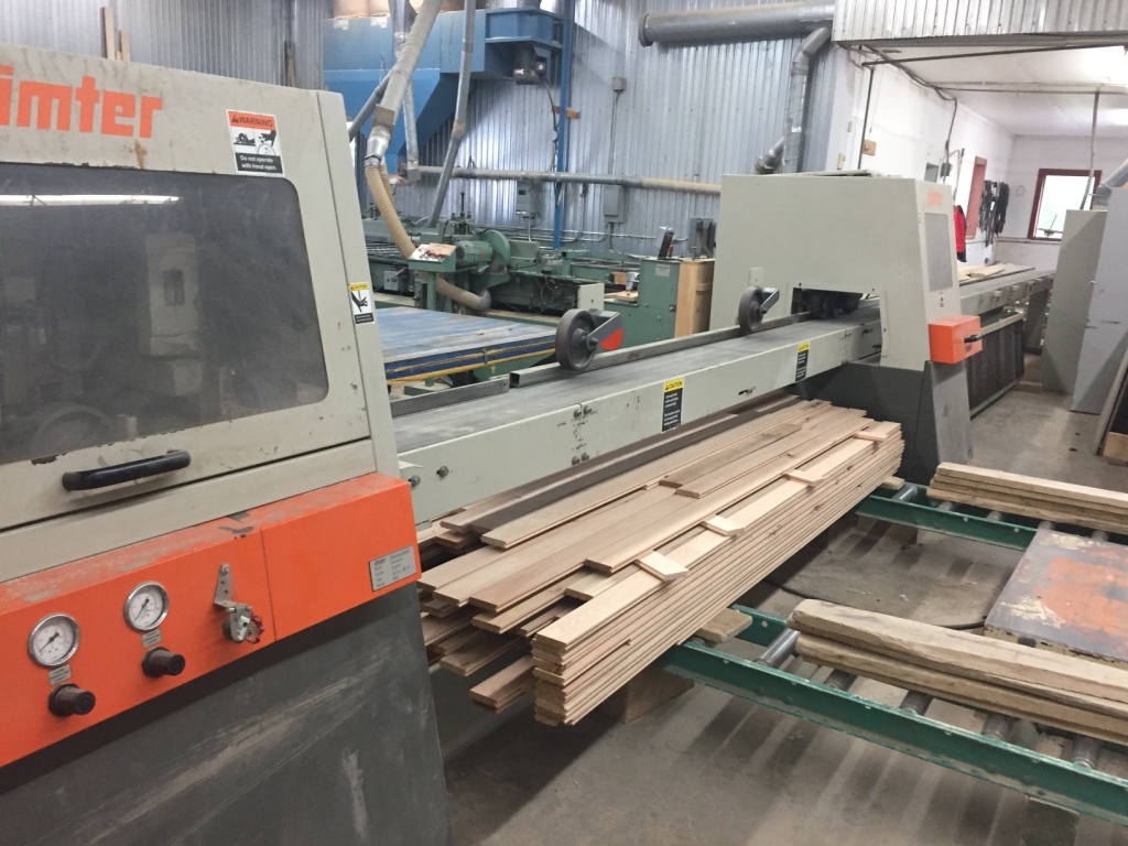 Used Dimter Opticut 304R | Saws - Optimizing Cross Cut