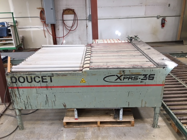 Doucet XP-36-5-17-D Return Conveyor, 2006