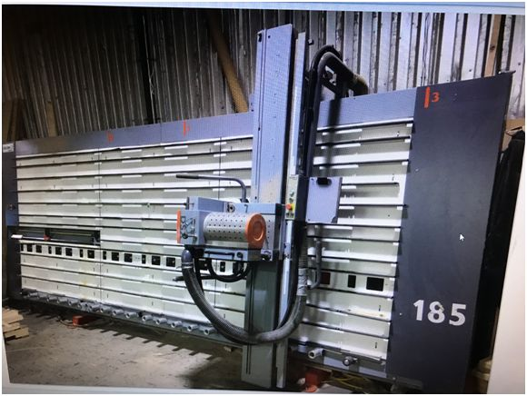 Used Elcon 185 DSX | Saws - Vertical Panel