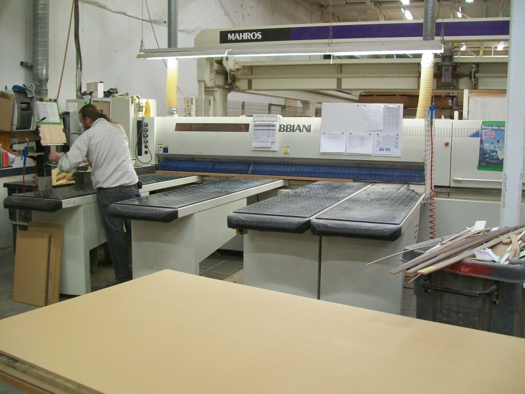 Used Gabbiani & Mahros Galaxy 105 T BR & Runner 3 Assi | Saws - Panel Beam