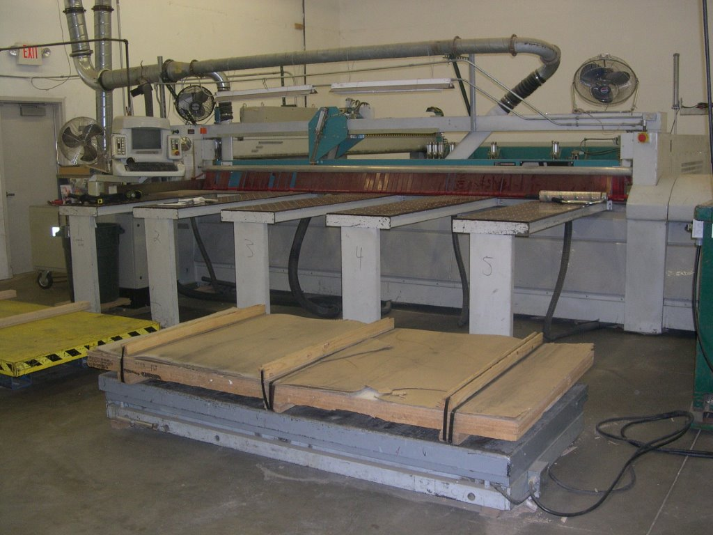 Giben Prismatic 301/SPT Rear Loading Panel Saw, 1998