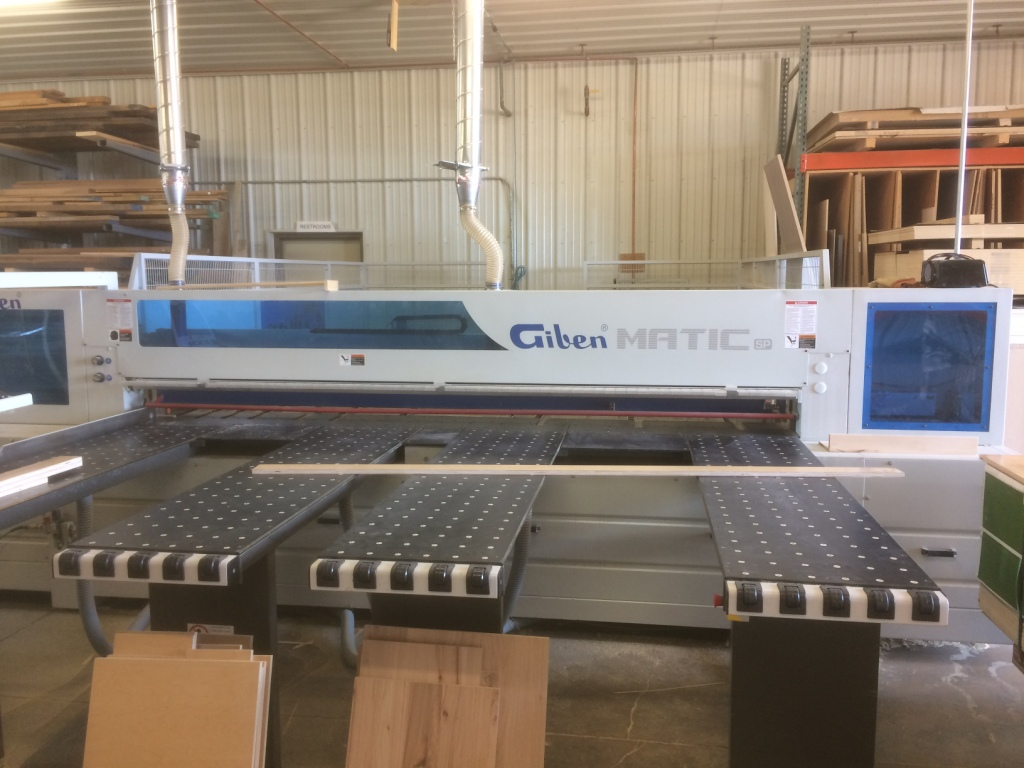 Giben Matic 75 SP Front Loading Panel Saw, 2014