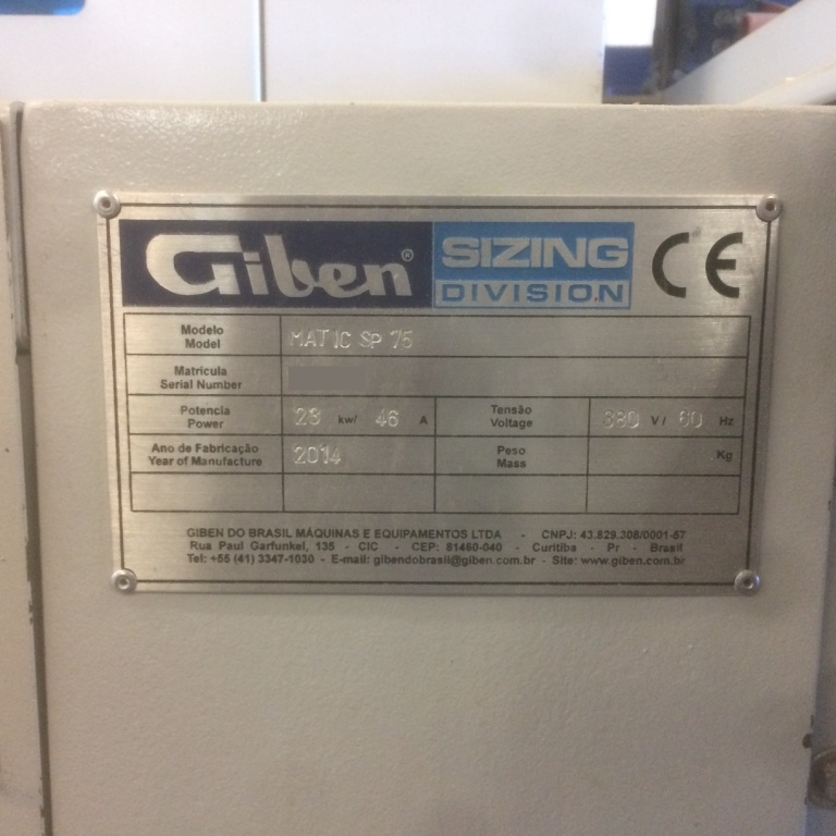 Used Giben Matic 75 SP Front Loading Panel Saw | Saws - Panel Beam