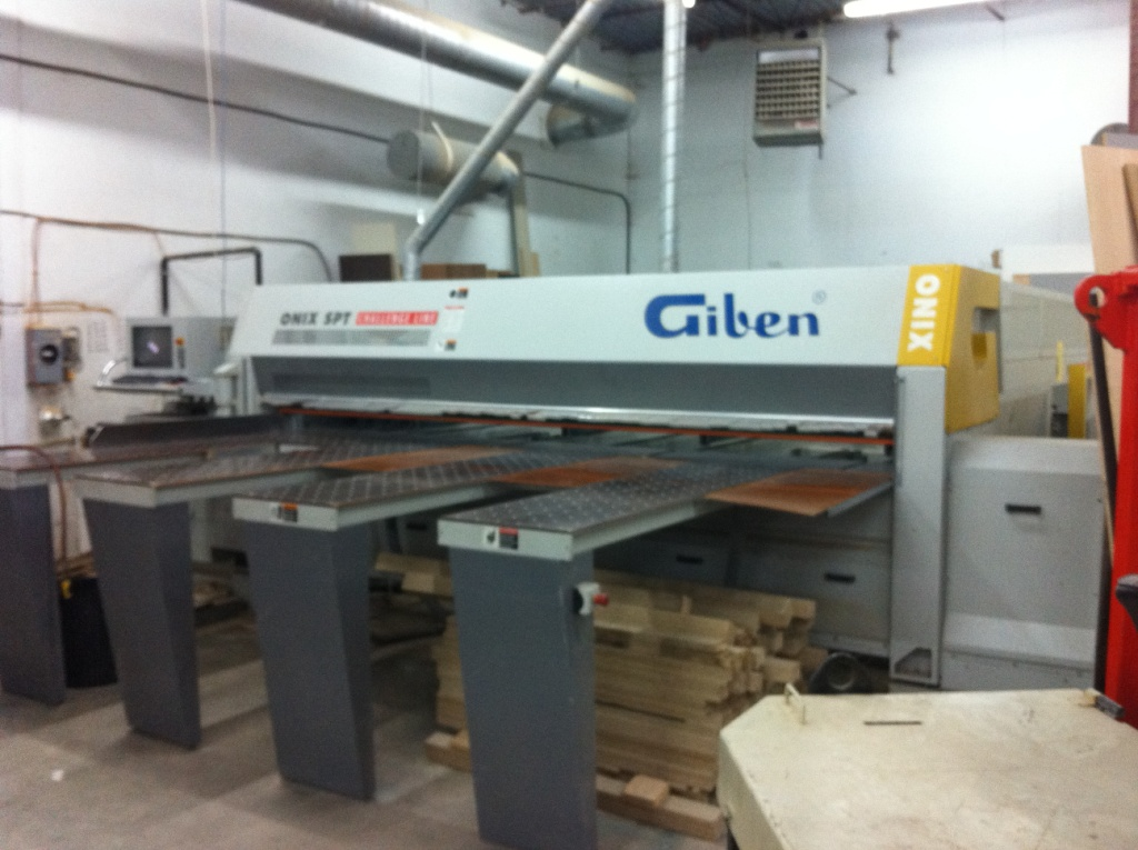 Giben Onix 105 SPT Rear Loading Panel Saw, 2005