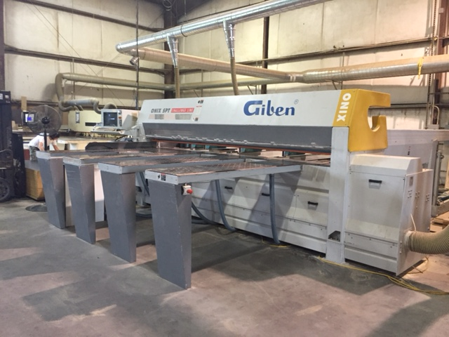 Giben Onix 105 SPT Rear Loading Panel Saw, 2005<BR><FONT COLOR=RED><B>JUST RECENTLY REDUCED</B></FONT>