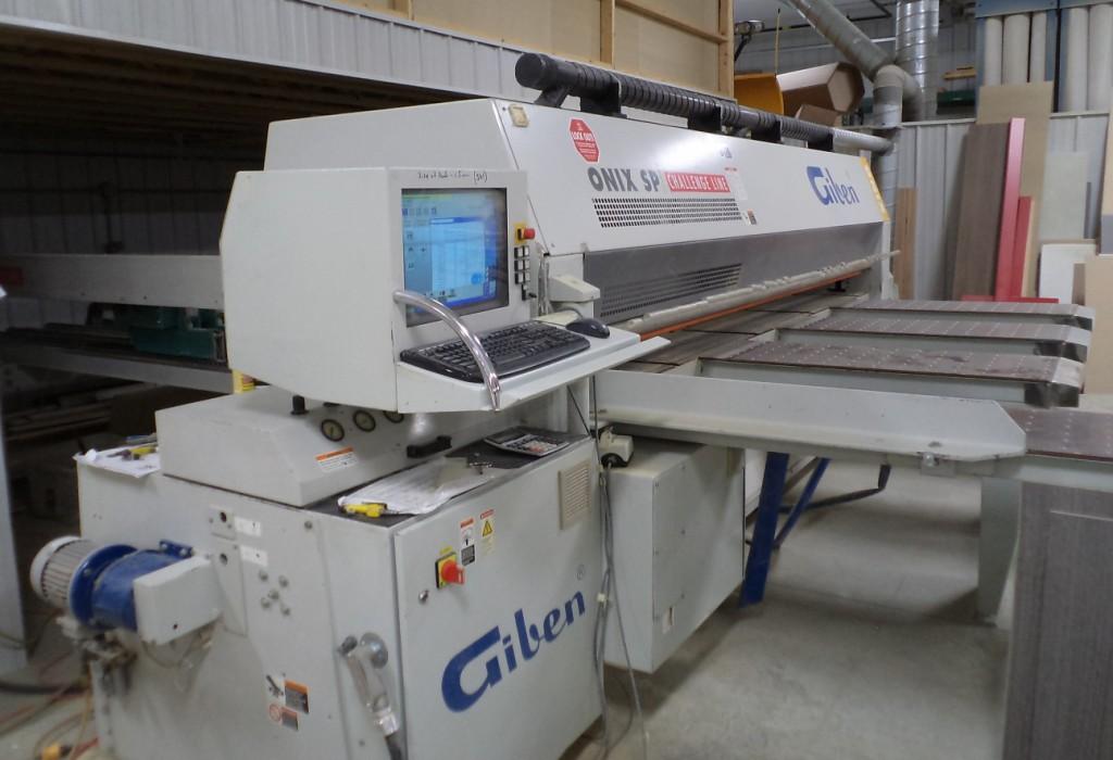 Giben Onix 90 SP Front Loading Panel Saw, 2004