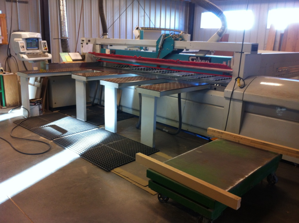 Giben Prismatic2 h100 SP Front Loading Panel Saw, 1999