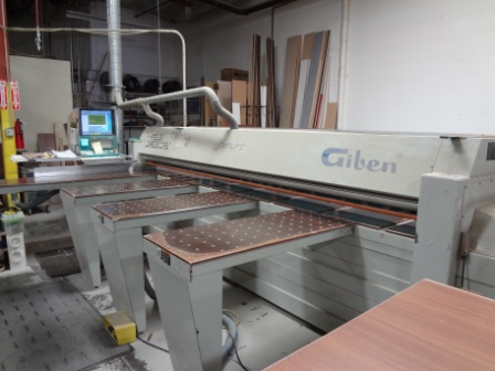 Giben Smart 65 SP Front Loading Beam Saw, 2001