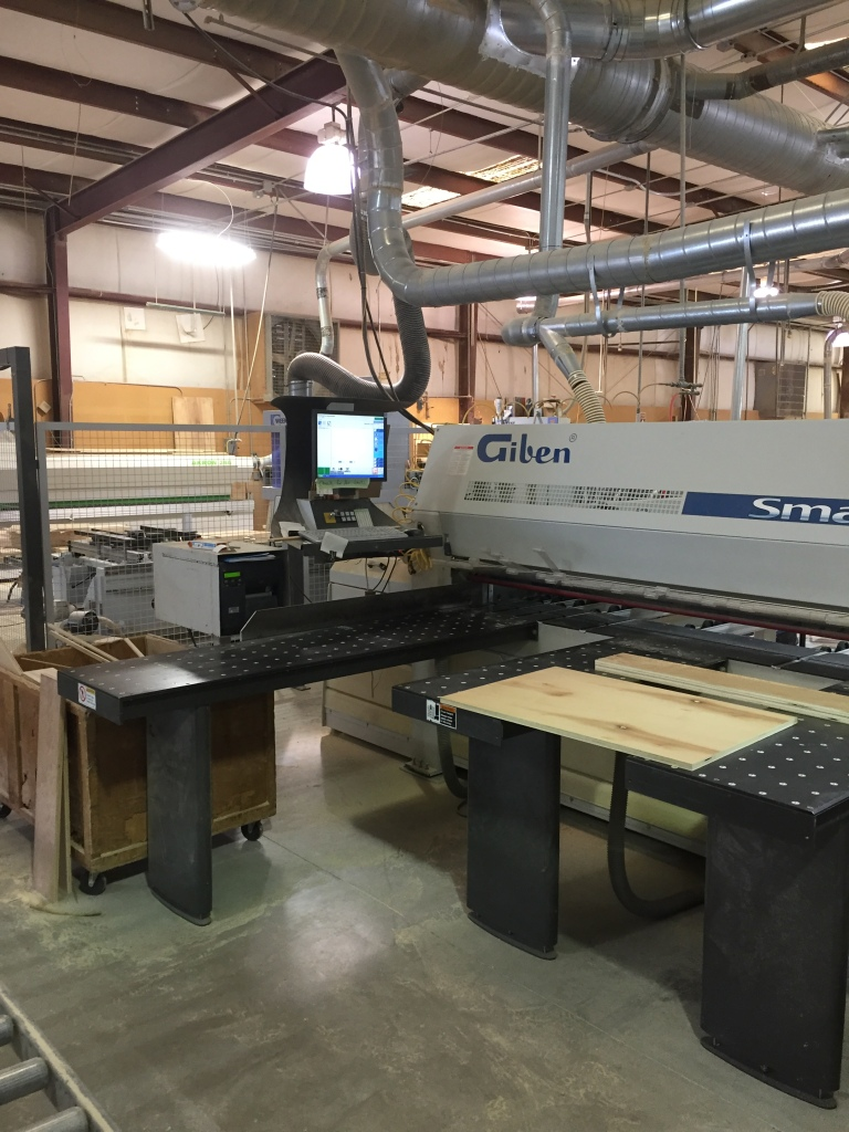 Giben Smart 80 SP Front Loading Panel Saw, 2007