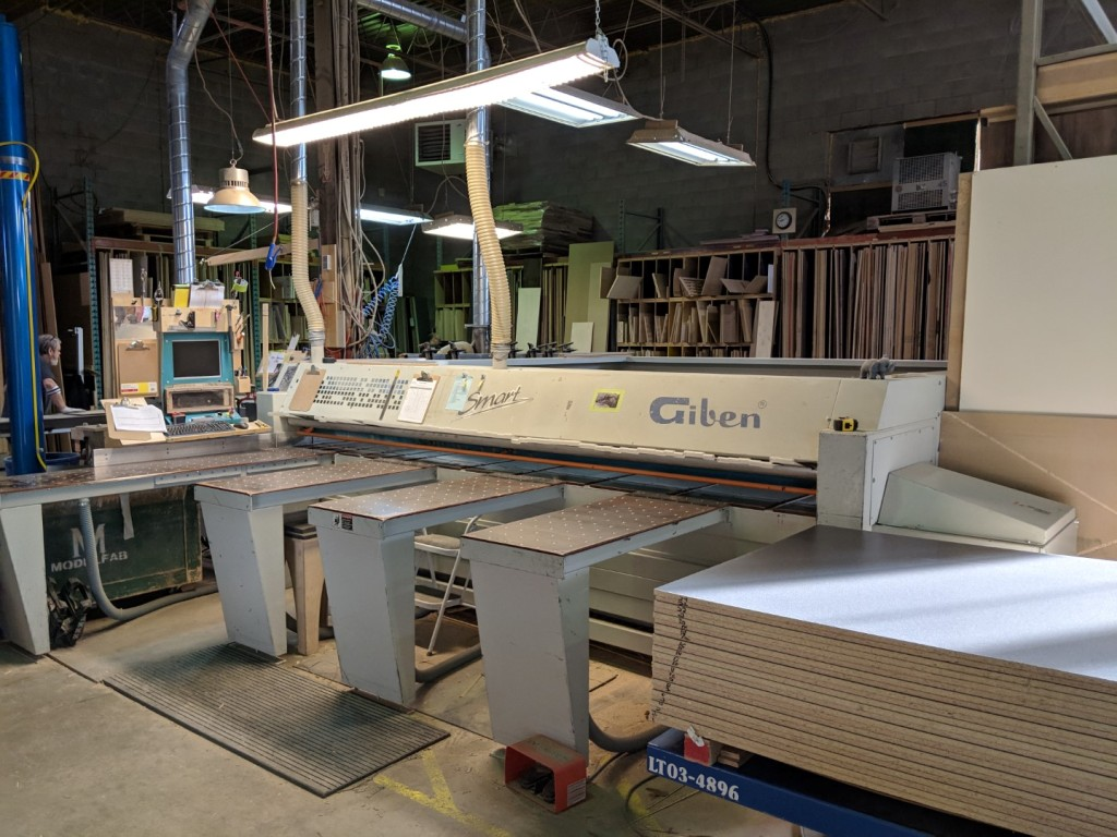 Giben Smart 65 SP Front Loading Beam Saw, 2002