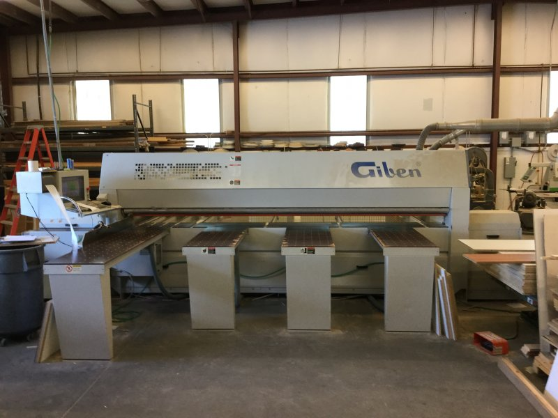 Giben Smart 75 SP Front Loading Panel Saw, 2004