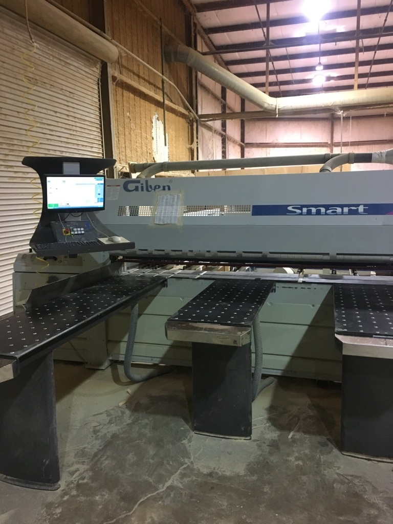 Giben Smart 95 SP Front Load Panel Saw, 2009