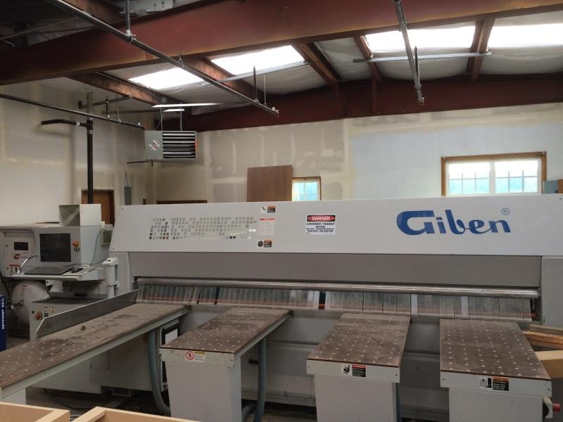Used Giben Smart 75 SP Front Loading Panel Saw | Saws - Panel Beam