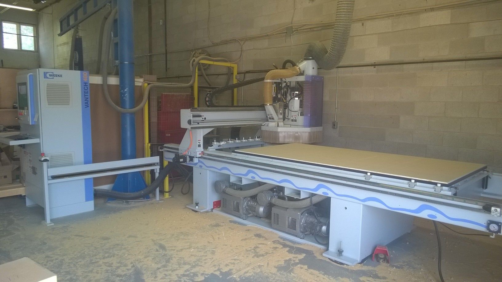 Used Weeke Vantech 480/08  | CNC Routers - Flat Table, Nesting