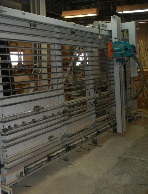 Used Holz-Her 1265 | Saws - Vertical Panel