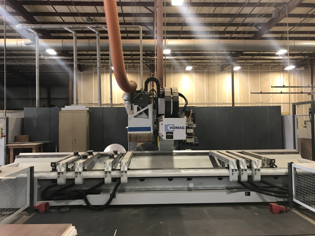 Used Homag BAZ 322/40/K | CNC Machining Centers - Pod and Rail