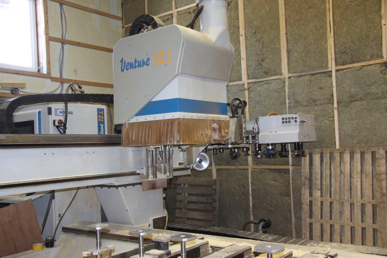 Used Homag Optimat BOF 211/Venture 12L | CNC Machining Centers - Pod and Rail