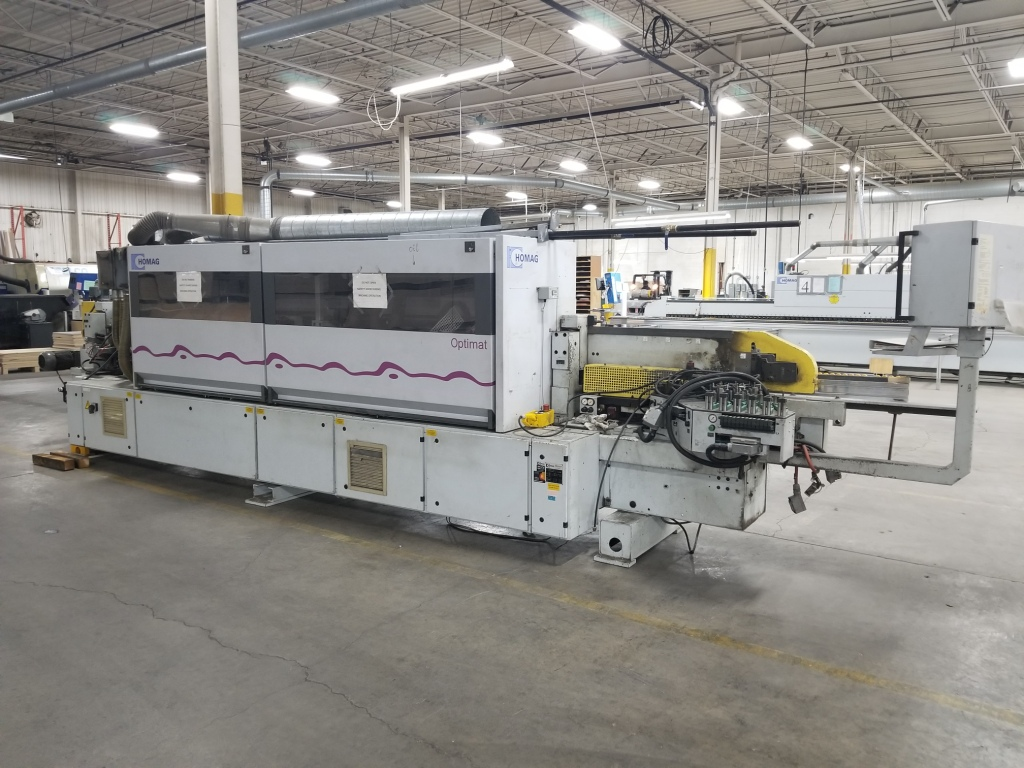 Used Homag Optimat KL 76/A3 | Edgebanders